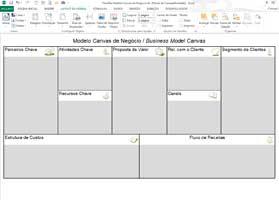 Planilha Modelo de Negócios Canvas