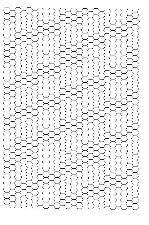 Mini-Mum Hexagon Grid