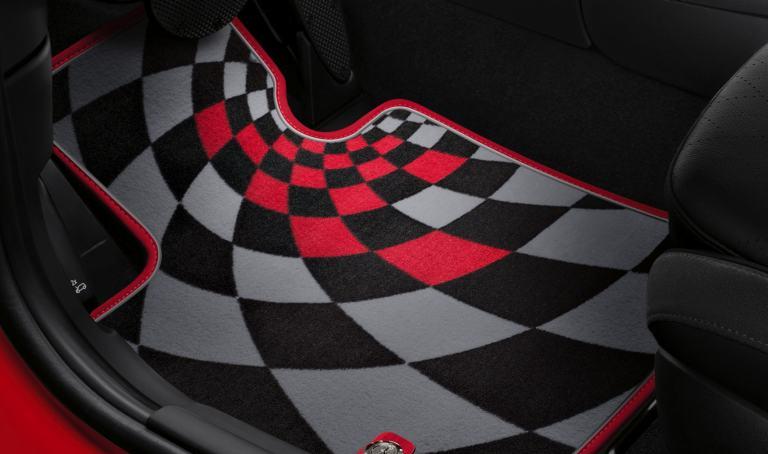 John Cooper Works Pro Textile Floor Mats