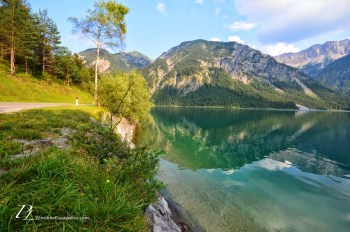 Lake plansee in Austria