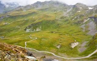 Driving the alpine road   Austria