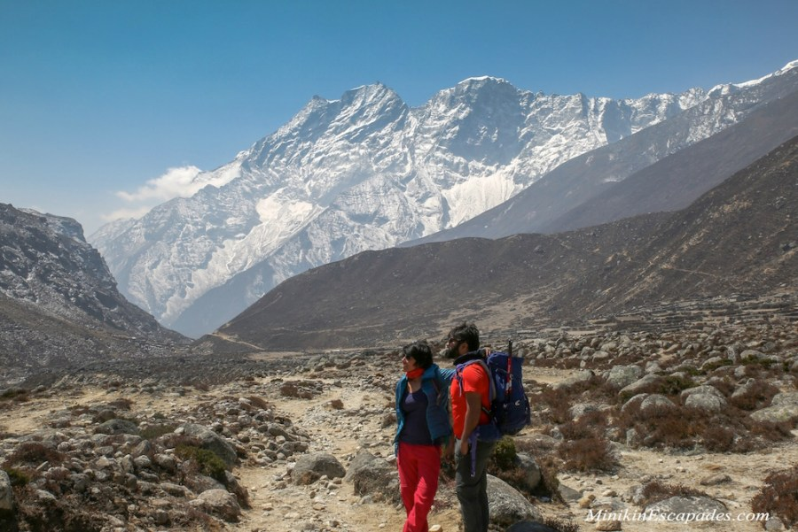 us at Thame on our way to Lungde before crossing Renjo la Pass