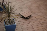 Balcony wooden tiles - 10 reasons why we should choose them