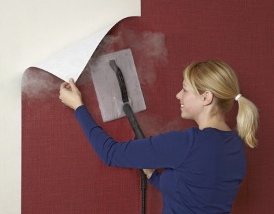 Wallpaper steamer – the easy way to remove old wallpapers