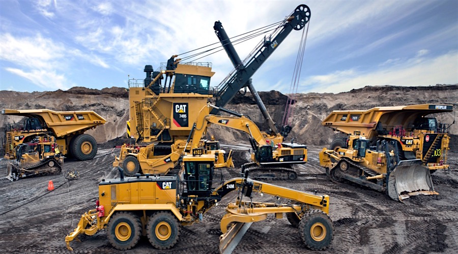 Caterpillar sees green shoots in mining, but sales far from - sales forecast