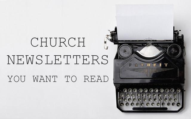 Church Newsletters That Get Read MinistryLINQ - church newsletter