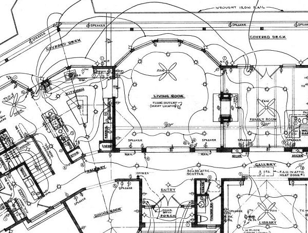 electrical plan symbols cad auto electrical wiring diagram Electrical Plan Example custom designed new home plans