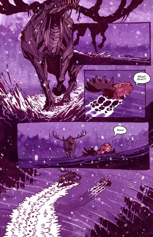 Cute Moose Wallpaper A Redtail S Dream Webcomic
