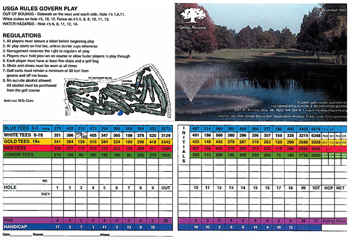 Gross National Golf Club