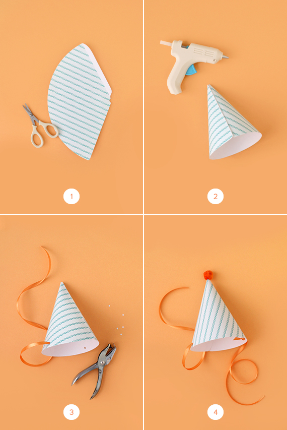 DIY Party Hats (With Printable!) Julep