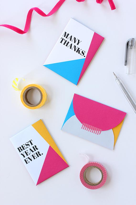DIY Gift-Card Envelope (Free Printable!) Julep