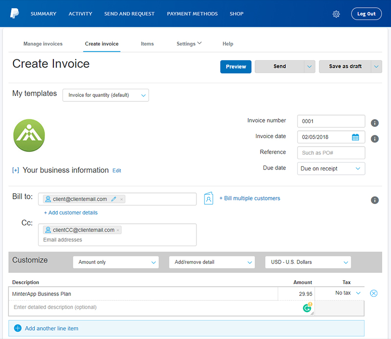 How To Send An Invoice Through PayPal
