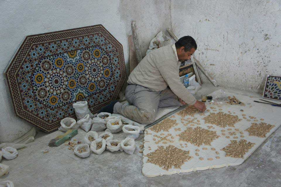 Moroccan Tile Work Tile Design Ideas