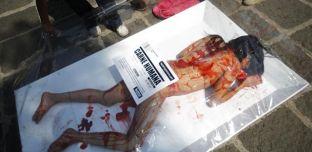 Des vegans espagnols se mettent à nus pour obtenir une journée sans viande