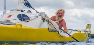 A presque 70 ans, il traverse l'Atlantique en kayak
