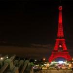 La Tour Eiffel arbore les couleurs de la Turquie