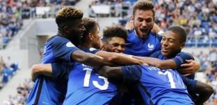 Euro U19: Les Bleus écrasent l'Italie et deviennent champions d'Europe
