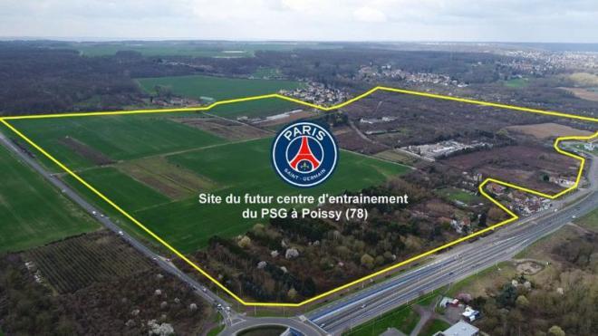 Le PSG a déposé son permis de construire