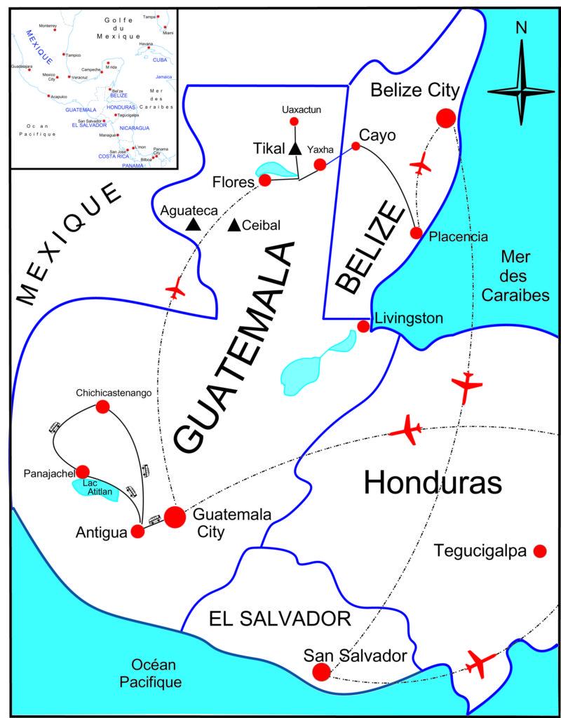 Une vaste cité maya découverte dans la jungle — Guatemala