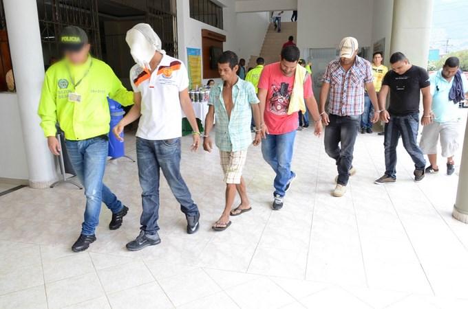 DSC 4410 Copiar Capturados en Caucasia, 13 integrantes de la banda Criminal Urabá