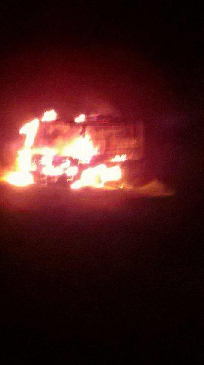bus coonorte Copiar Atentado en Norte de Antioquia; FARC dinamitaron un bus de la empresa Coonorte