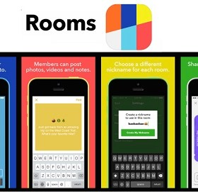 facebook-rooms aplicacion