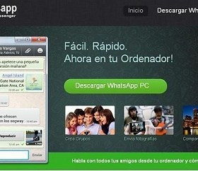 whatsapp para pc computadoras descargar