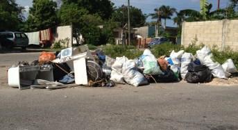 Mérida sigue inundada de basura …