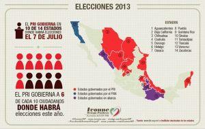 mapa electoral 2013 dos
