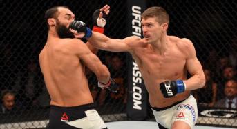 """Wonderboy"" Thompson noquea a Johny Hendricks en UFC fight night Las Vegas"