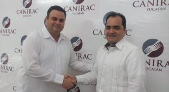 Lic. Ricardo Campos Achach, nuevo dirigente de la CANIRAC