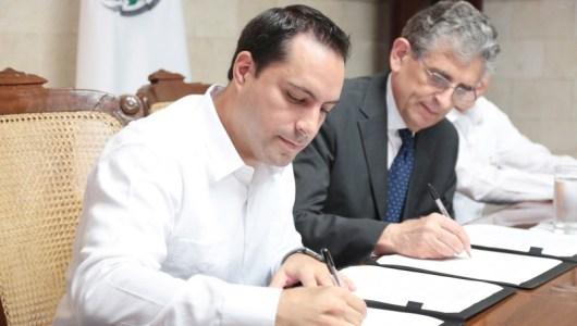 Firma el alcalde carta de intención de hermanamiento entre Mérida y Lucca, Italia