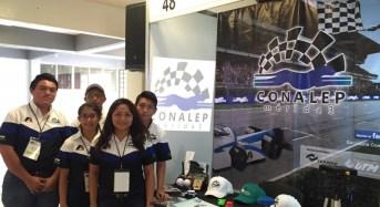 Alumnos del Conalep participarán en final de competencia de la Fórmula 1