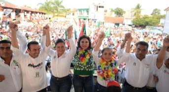 Betsy Aragón será la primera presidenta municipal de Huatulco: Ivonne Ortega Pacheco