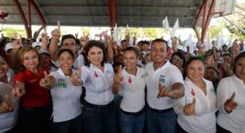 Llama Ivonne Ortega a no bajar la guardia y cerrar filas entorno a Mauricio Góngora