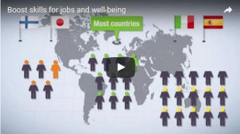 Mejorar las competencias para construir sociedades más equitativas y más incluyentes: OCDE