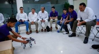 Viajarán jóvenes yucatecos a Silicon Valley que ganaron certamen de ciencia, tecnología y robótica