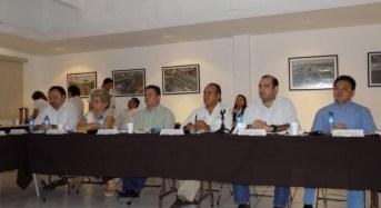 Reunión de trabajo del Centro SCT Yucatán con Diputados Federales, SEGOB y autoridades del Gobierno Estatal
