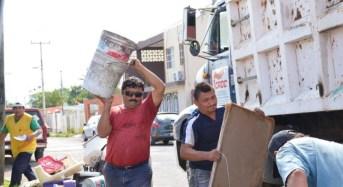 Finaliza cuarto operativo de descacharrización masiva en Mérida