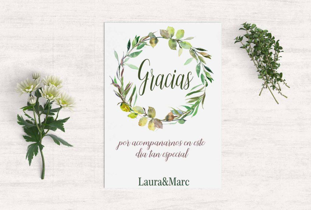 14 Mensajes originales de agradecimiento para los invitados de tu boda