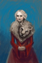 cersei lannister lion lena headey red game of thrones