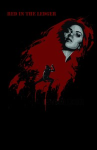 scarlet johanson, jeremy renner, avengers, fan poster, red in the ledger, blood