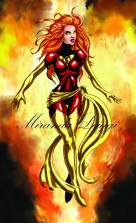 jean grey, marvel, comic, x-men, fire