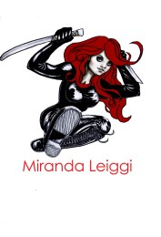 comic, female, copic marker drawing, sword, action pose, kick, red hair