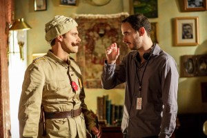 Alec Mouhibian with Sam Page, left, as the Turkish colonel in '1915'