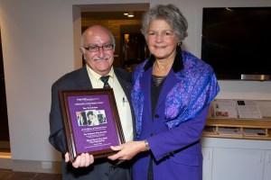 Tom Vartabedian with Ruth Thomasian