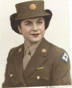 Kay Vartanian during World War II