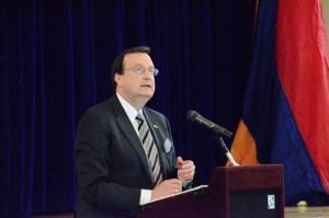 Ambassador Mills in New York