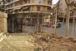Destruction in the Armenian Quarter of Aleppo