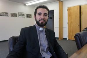 Dean of the Gevorkian Seminary Fr. Garegin Hambardzumyan